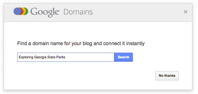 Blogger Google Connection